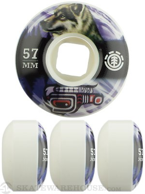 Element Wolf Spirit Animal Wheels 57mm