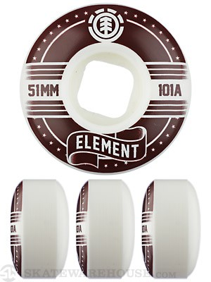 Element Banner Street Wheels 51mm