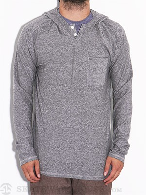 Element Section L/S Sleeve Henley Grey SM