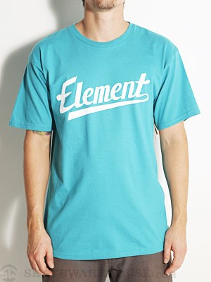 Element Script Tee Lagoon XL