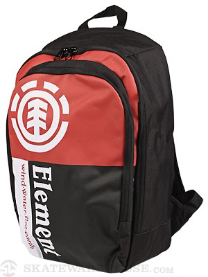 Element Section Backpack Red