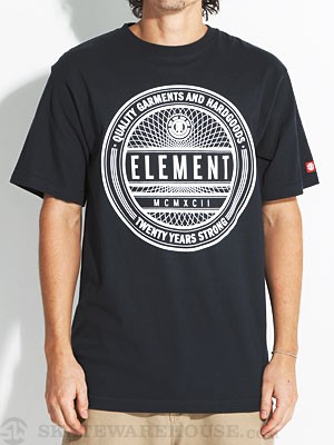 Element Sealed Tee Navy SM