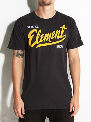 Element Supply Tee Black SM