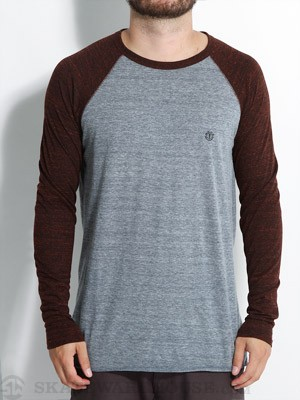 Element Sean Raglan Shirt Merlot XL