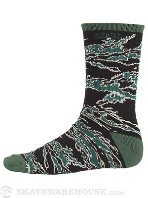 Element Tigerleaf Socks Forest