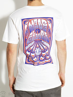Element Tripper Tee White MD