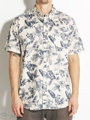 Element Tropical Thunder Woven Shirt Sand SM