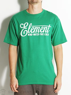 Element Twist Tee Kelly Green SM