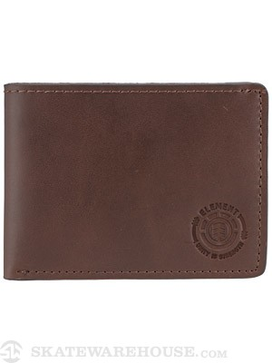 Element Unity Leather Wallet Brown