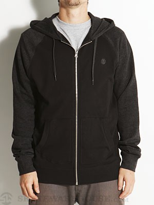 Element Vermont Hoodzip Black XXL