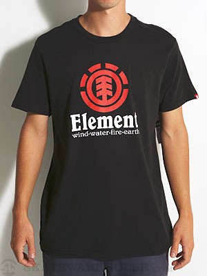 Element Vertical Tee Red SM