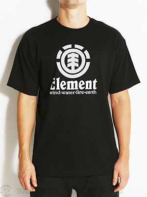 Element Vertical Tee Black SM
