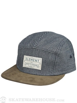 Element Williams 5 Panel Hat Indigo Adj.