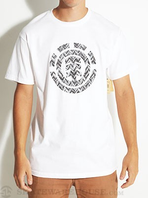 Element Wood Tee White SM