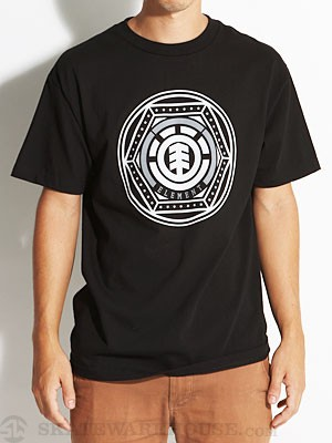 Element Hex Tee Black LG
