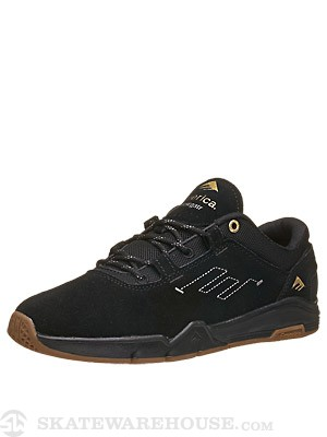 Emerica Brandon Westgate G6 Shoes  Black/Gum