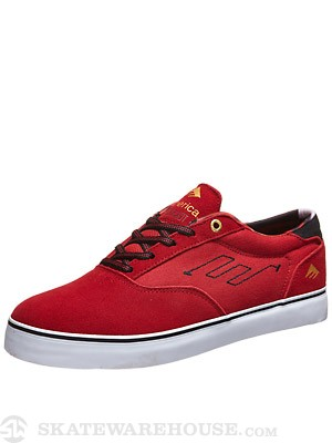 Emerica Provost Shoes Red