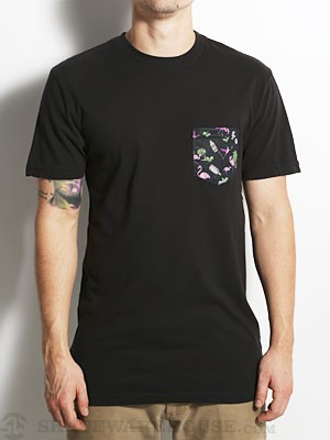Emerica Flamingo Hangover Pocket Tee Black MD