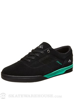 Emerica Herman G6 Shoes  Black/Teal