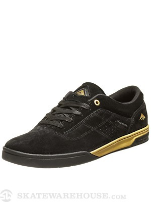 Emerica Herman G6 Shoes Black/Gold
