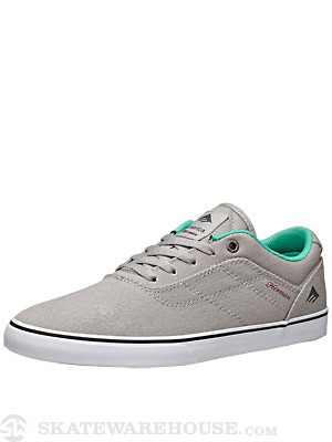 Emerica Herman G6 Vulc Shoes Grey/Green