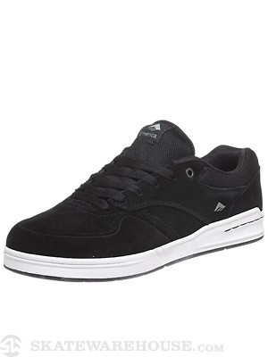 Emerica Heritic Shoes Black/White