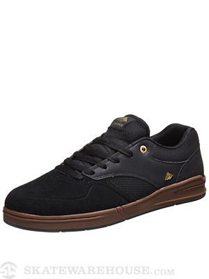 Emerica Heritic Shoes  Black/Gum