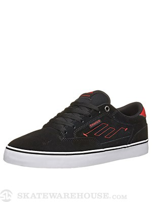 Emerica Jinx 2 Shoes  Black/Red