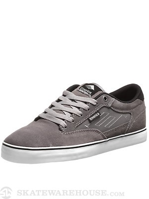 Emerica Jinx 2 Shoes  Grey/Black/White