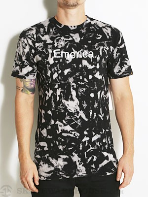 Emerica Pure 12.1 Tie Dye Tee Black SM