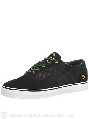 Emerica Provost Shoes Black/Green