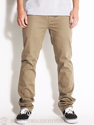 Reynolds Slim Chino Pants Khaki 30