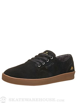 Emerica Romero Laced Shoes Black/Gum