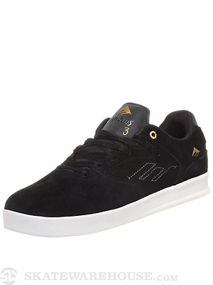 Emerica Reynolds Low Shoes Black/White/Gold