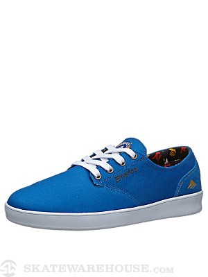 Emerica x Bro Style Romero Laced Shoes Blue/White