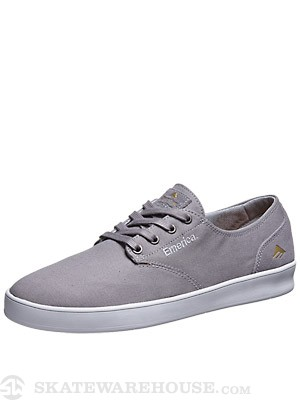 Emerica Romero Laced Shoes Grey/White
