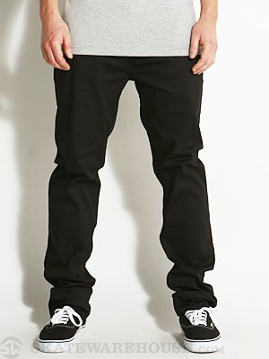 Emerica Reynolds Slim Chino Black 34