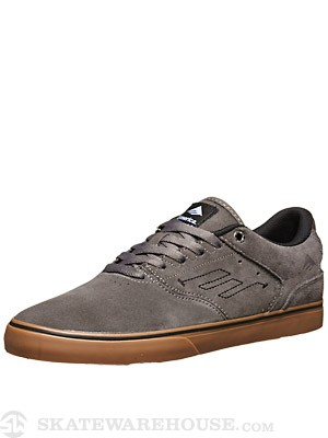 Emerica Reynolds Low Vulc Shoes  Grey/White/Gum