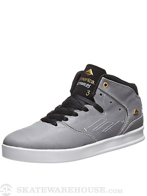 Emerica Reynolds Mid Shoes  Grey/Black