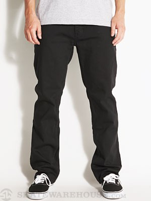 Reynolds Straight Jeans OD Black 28x30