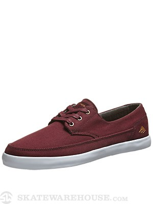 Emerica Romero Troubadour Low Shoes Maroon