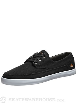 Emerica Romero Troubadour Low Shoes Black/White