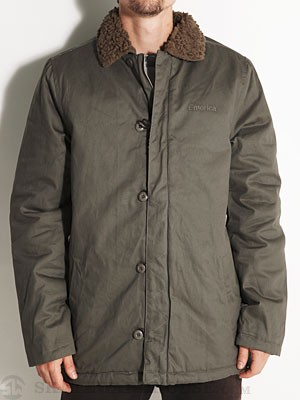 Emerica Slappy Bandit Jacket Fatigue LG
