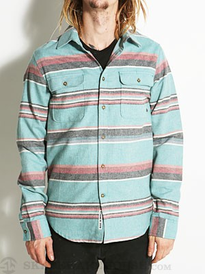 Emerica Santa Fe Flannel Teal MD