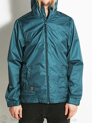 Emerica Stanwood Windbreaker Jacket Dark Teal SM