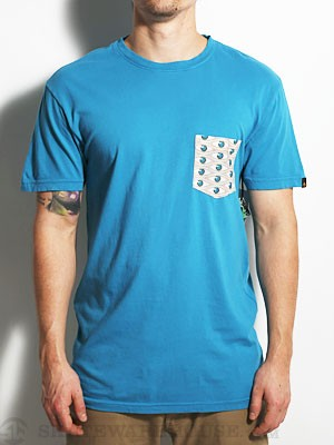 Emerica The Memphis Pocket Tee Teal MD