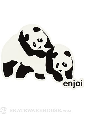 Enjoi Piggy Back Panda Logo 6