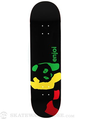Enjoi Rasta Panda Wide Deck  8.4 x 31.8