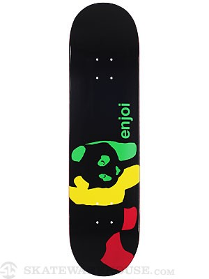 Enjoi Rasta Panda Wide Deck 8.1 x 31.8
