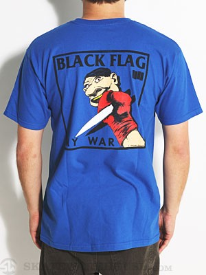 Elephant Brand My War Tee Royal MD